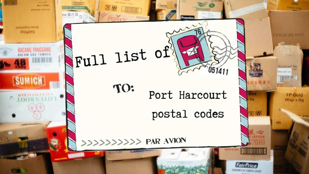 Port Harcourt postal code