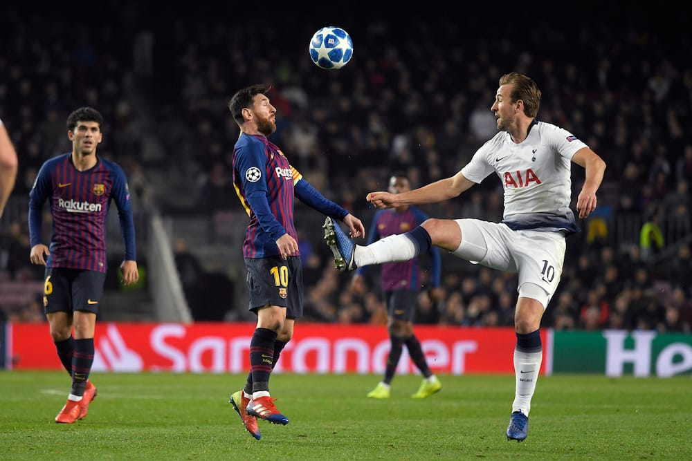Lionel Messi and Harry Kane