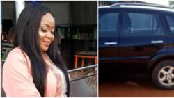 Actress Shine Osemwingie appreciates husband as he gifts her RAV4 car