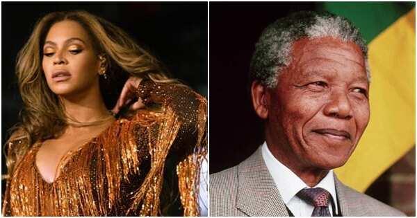 Beyoncé writes heartfelt letter of gratitude to Nelson Mandela