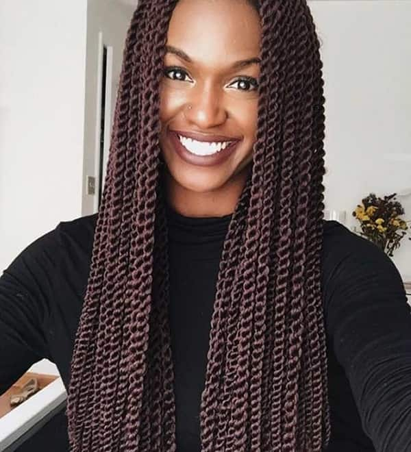 Big Twist Braids Hairstyles For Real Fashionistas Legit Ng