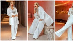 Fierce and regal: Tonto Dikeh served major boss lady vibes in all-white birthday look