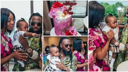 Lovely photos from Timaya's daughter Maya's 1st birthday party
