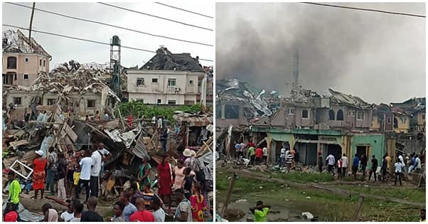 Abule Ado explosion: Catholic priest reportedly dies while trying to save trapped students