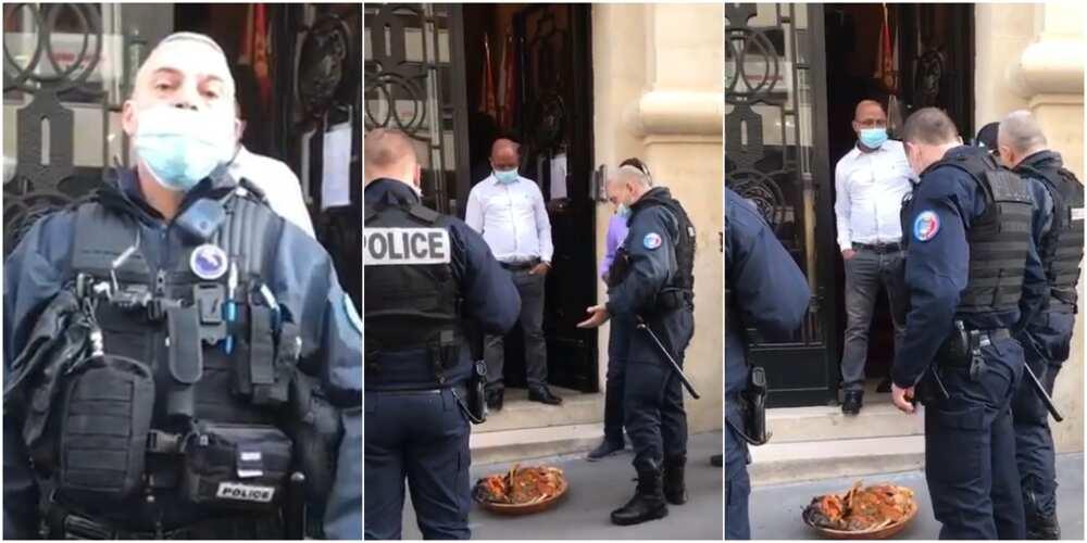 Policemen in Paris
