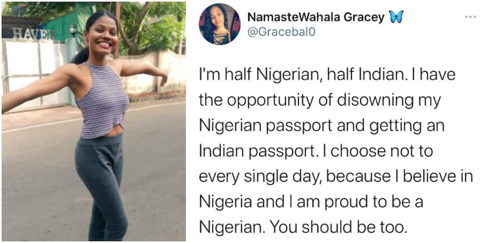 You Dey Brag With Indian Passport: Funny Reactions As Dual Citizen Says She Chose Nigeria Over India