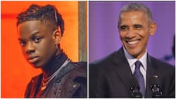 Don Jazzy, others react as Rema's song Iron Man appears on Barack Obama's playlist