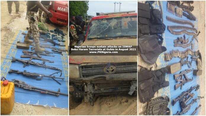 Jiragen NAF sun ragargaji motocin yakin Boko Haram, sojin kasa sun sheke 'yan ta'adda