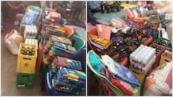 Viral photos of bride price gifts demanded from groom in Imo