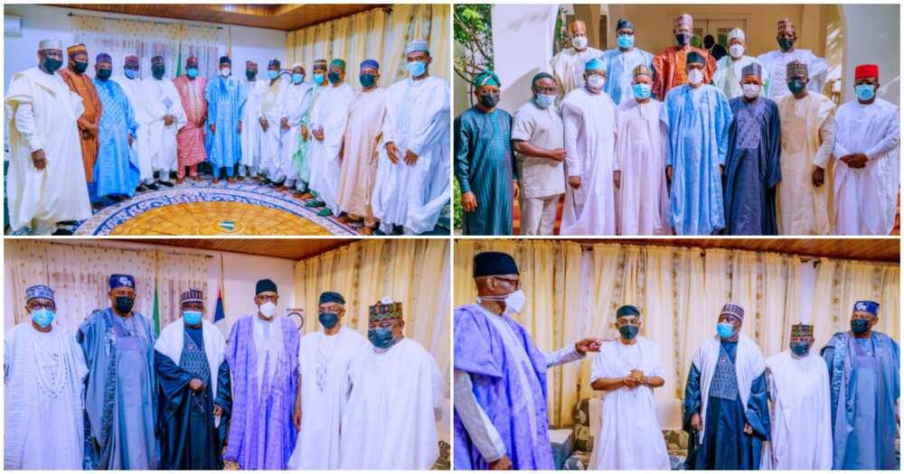 Gbajabiamila, APC Governors in Daura
