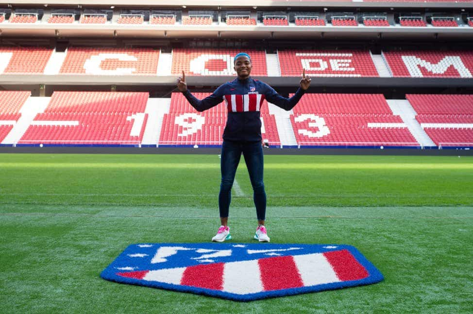 Rasheedat Ajibade, Super Falcons star, completes move to Atletico Madrid