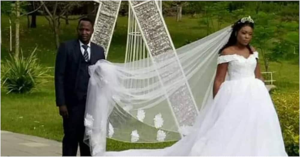 Groom whose wedding was disrupted by ex-lover says she mistreated him when he lost his job