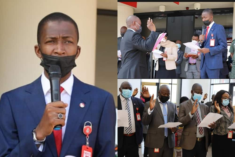 Fight Against Corruption Takes New Dimension As EFCC Staff Take Fresh Oath of Office