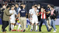 Paraguayan fans storm the pitch, demand 1 stunning thing from Messi as police rush in