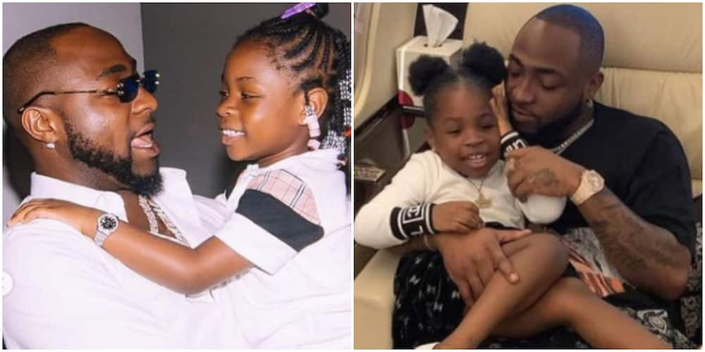 Daddy See My Billboard: Davido Reacts As His First Child, Imade Bags Endorsement Deal