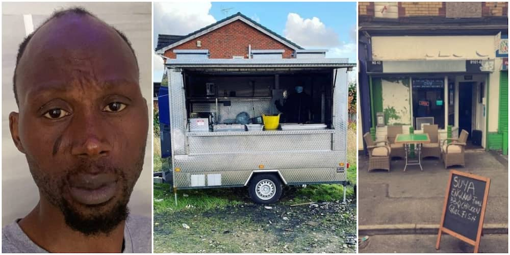 Reactions as Nigerian chef in UK cries out after his trailer was stolen overnight