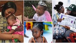 Imade at 6: Sophia Momodu digs up cute baby photos, says 'every day, I wake up grateful to be your mum'
