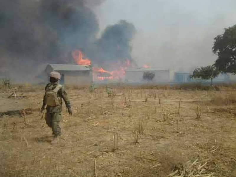 Terrorists in Nigeria