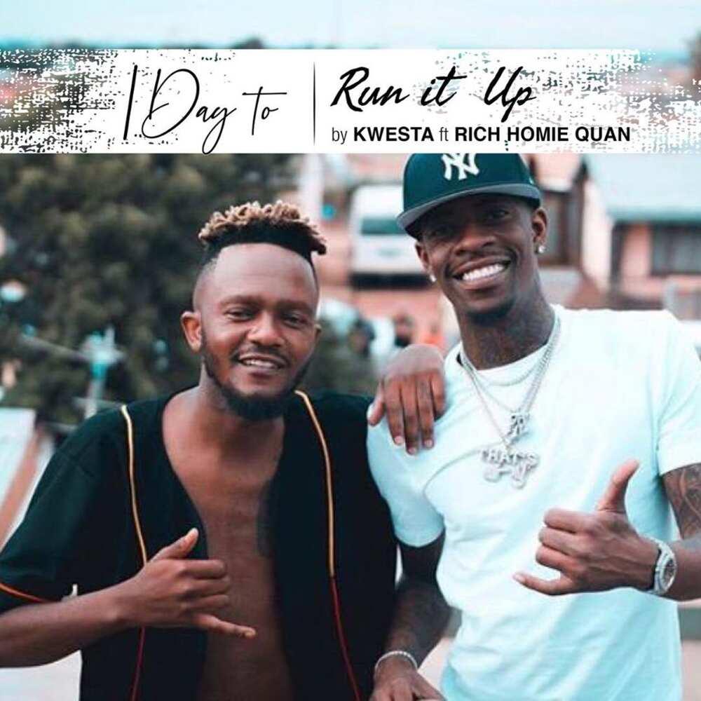 Kwesta - Run It Up reactions