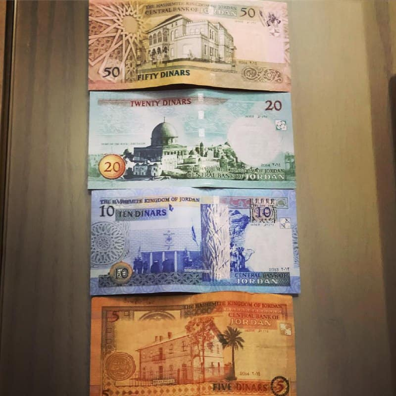 Jordanian Dinar as the highest currency on the Globe