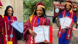 Lady bags awards as she emerges best graduating student of her faculty in UNILAG, shares adorable photos