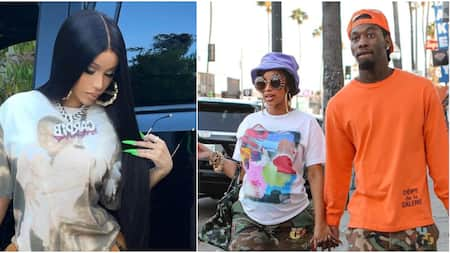 Rapper Cardi B reportedly expected to welcome her 2nd child with Offset in September