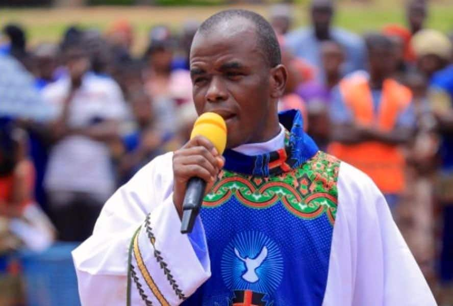 """Hours After Resurfacing in Enugu, Father Mbaka Reveals Those Behind His """"Disappearance"""""""