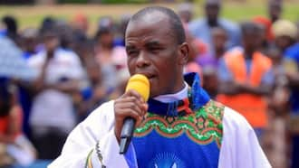 "Hours after resurfacing in Enugu, Father Mbaka reveals those behind his ""disappearance"""