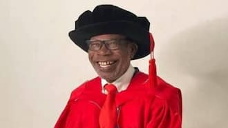 Man causes stir online as he bags PhD at 75 after getting his MBA at 67, he got his 1st degree when he was 64