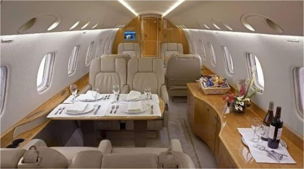 Gareth Bale travelled in luxury as he flew from Madrid to London to seal Tottenham