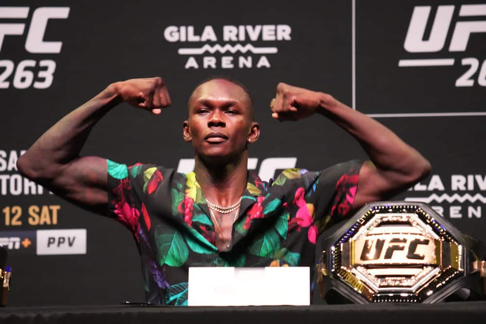 Nigeria's UFC fighter Isreal Adesanya suffers racist attack hours before his fight