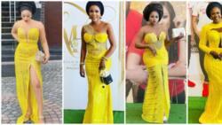 Asoebi slayers: 11 gorgeous looks at actress Olayinka Solomon's wedding