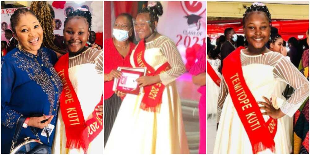 Jaiye Kuti shares photo from daughter's gradustion