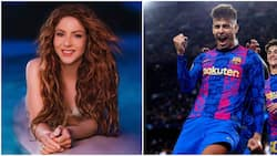 Pop singer Shakira elated after hubby Gerard Pique hits unique milestone in Champions League