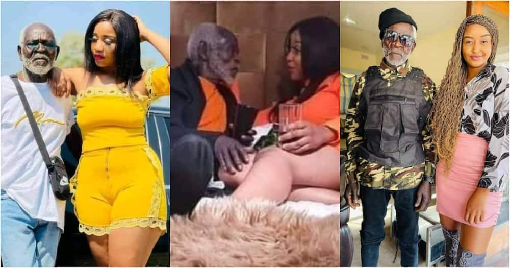 Age is just a Number - Lady says as she Proudly Flaunts her Old Lover in Bedroom Photos; Many Scream
