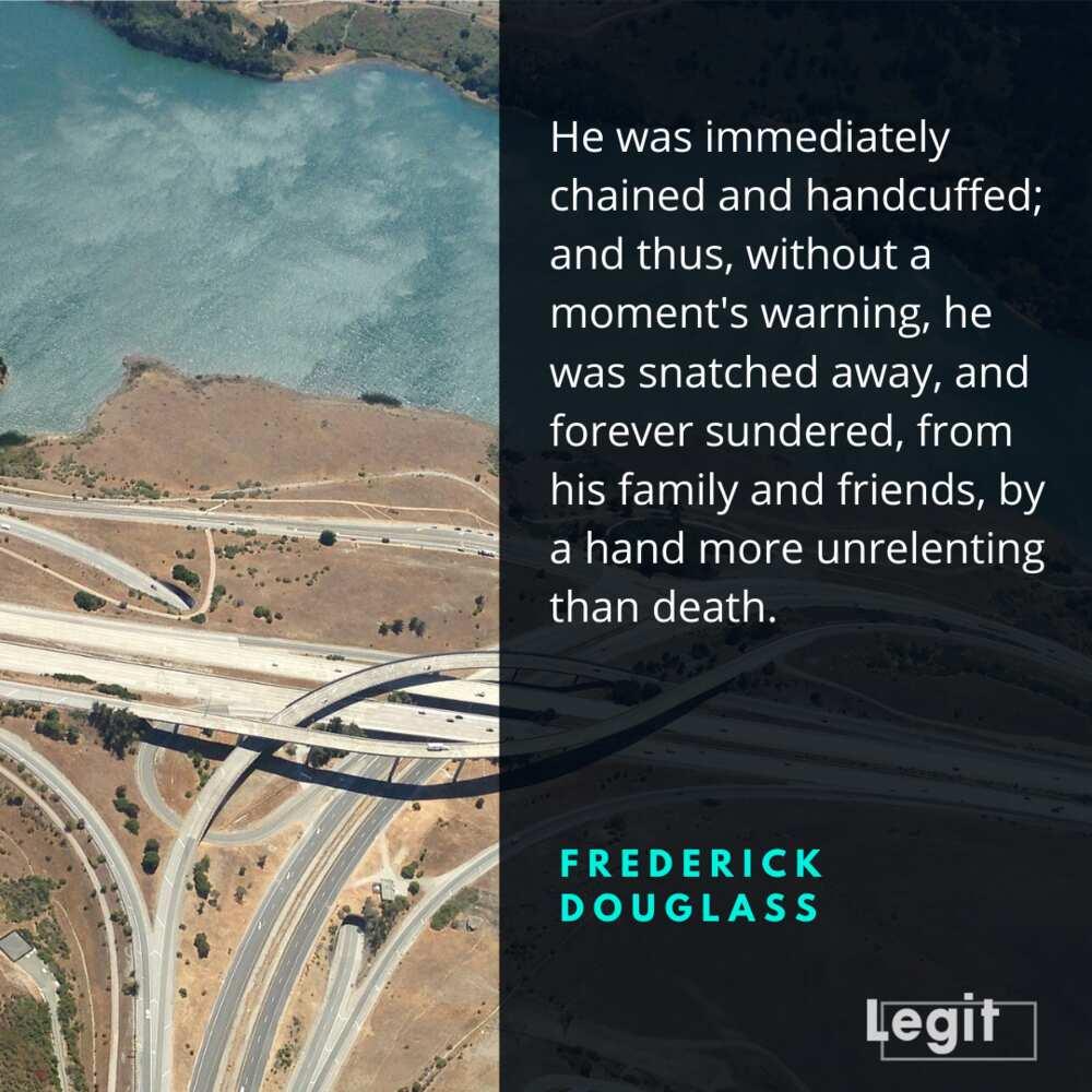 Frederick Douglass quotes on family