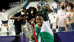 Nigerian star who helped Barcelona win 1st Champions League title emerges top target for Man United