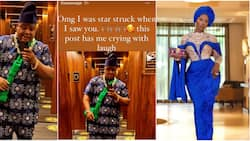 Cubana Chiefpriest vows to frame Tiwa Savage's appreciation post after he attended her dad's burial party