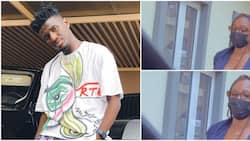 Comedian Nasty Blaq gets many gushing after showing off his special lady, fans say she looks like Tbaj