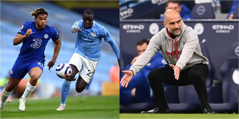 Guardiola reaction when Chelsea star eases past Man City defender is worrying