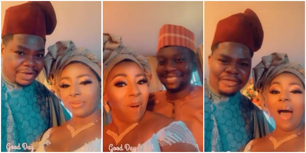 Mide Martins' Husband Quickly Calls Account Number After Mr Macaroni Makes Move to Buy Actress for N5m