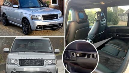 Man United icon Rooney puts up his £24,000 Range Rover for sale as he hangs up his England shirt