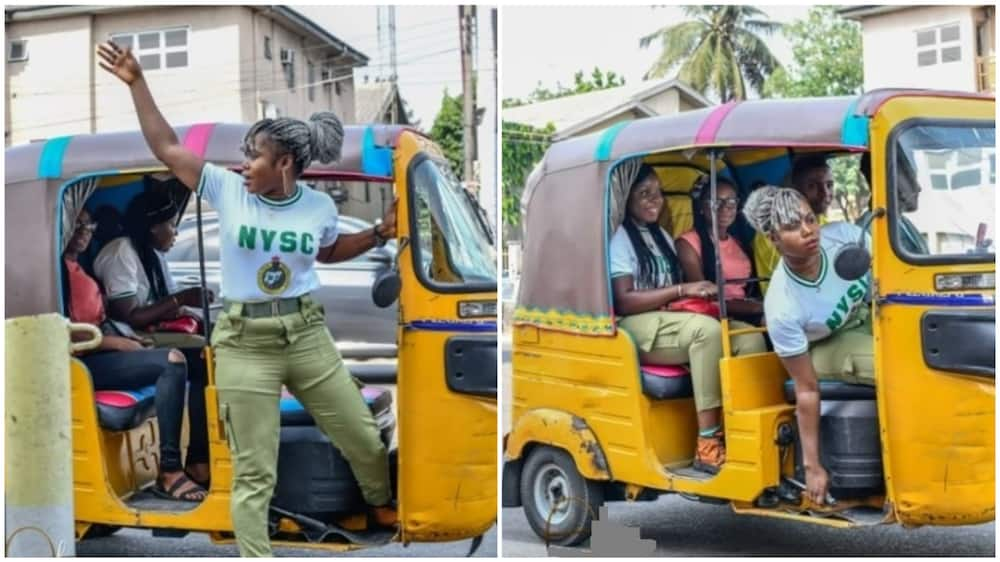 Female corp member purchases keke NAPEP using savings from NYSC allowance