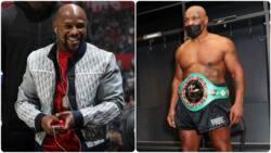 Mike Tyson 'attacks' Floyd Mayweather ahead of fight against Paul Logan