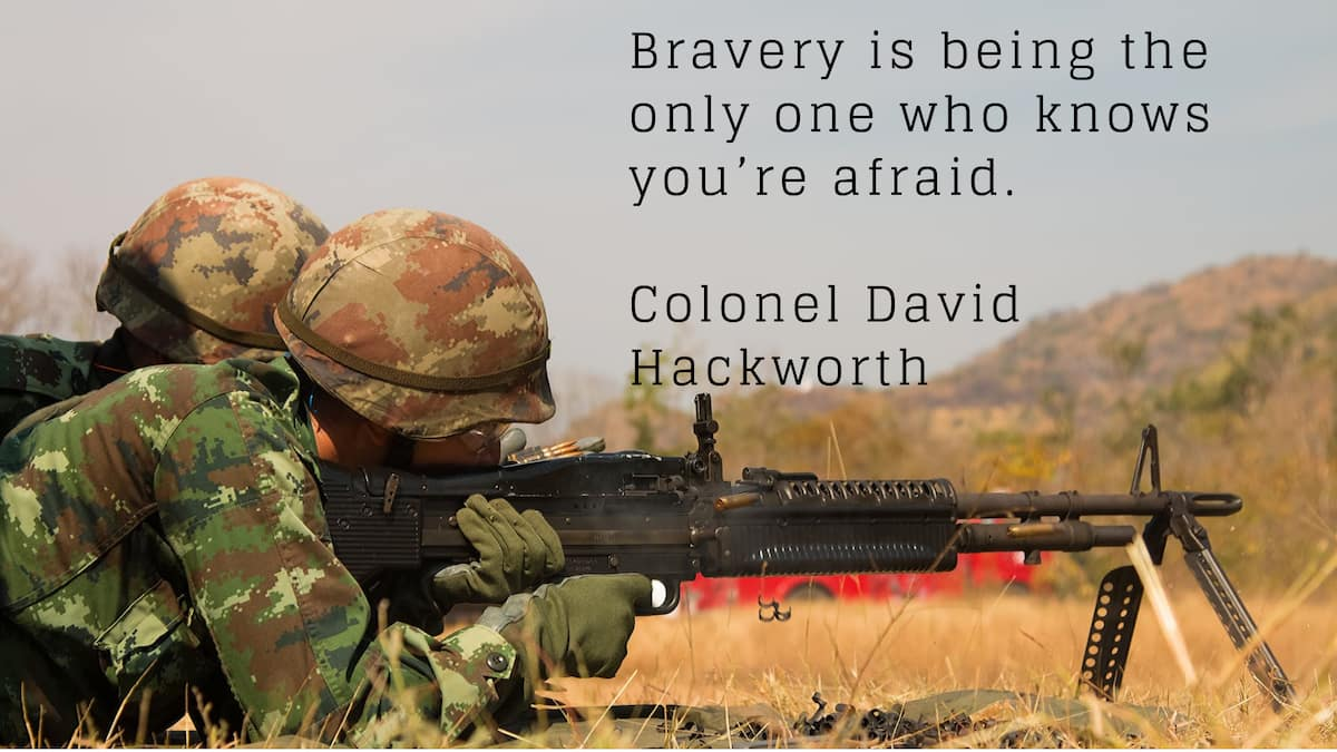 25 best inspirational military quotes of all time ▷ Legit ng