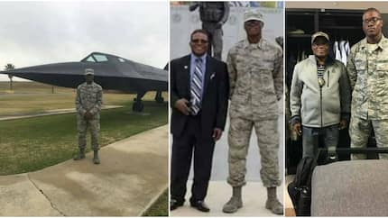 Meet 19-year-old David Imoh Umoette who is the youngest Nigerian to fly a plane in the American Air Force (photos)