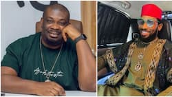 Don Jazzy sends special birthday message to Dbanj as he clocks 41, singer reacts