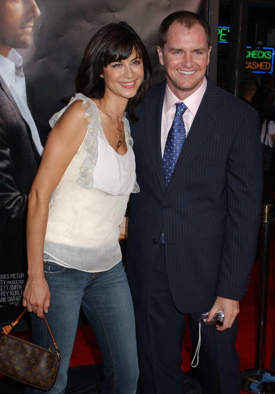 Catherine Bell and Adam Beason