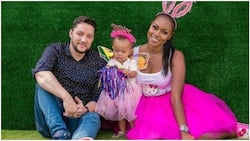 Actress Yvonne Nelson finally confirms split from her British baby daddy
