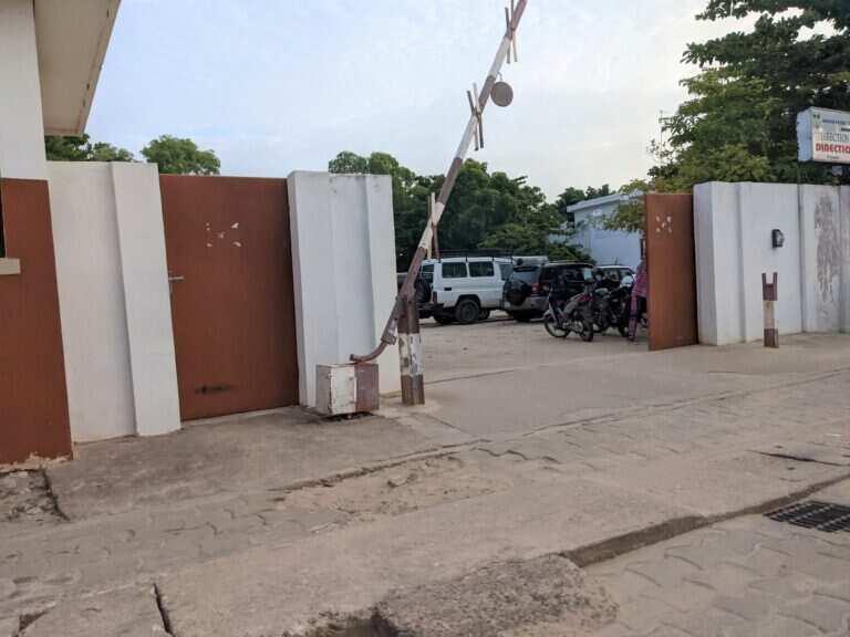 Building where Igboho is being held in Benin Republic